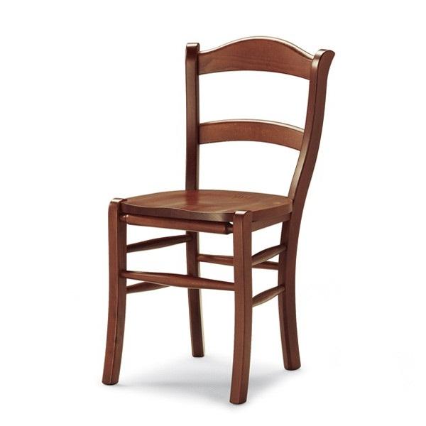 Sedie In Legno Rustiche.Rubino Sedia In Legno Rustica