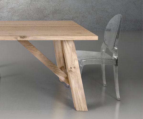 Ghosty sedia trasparente in policarbonato stile ghost insedia