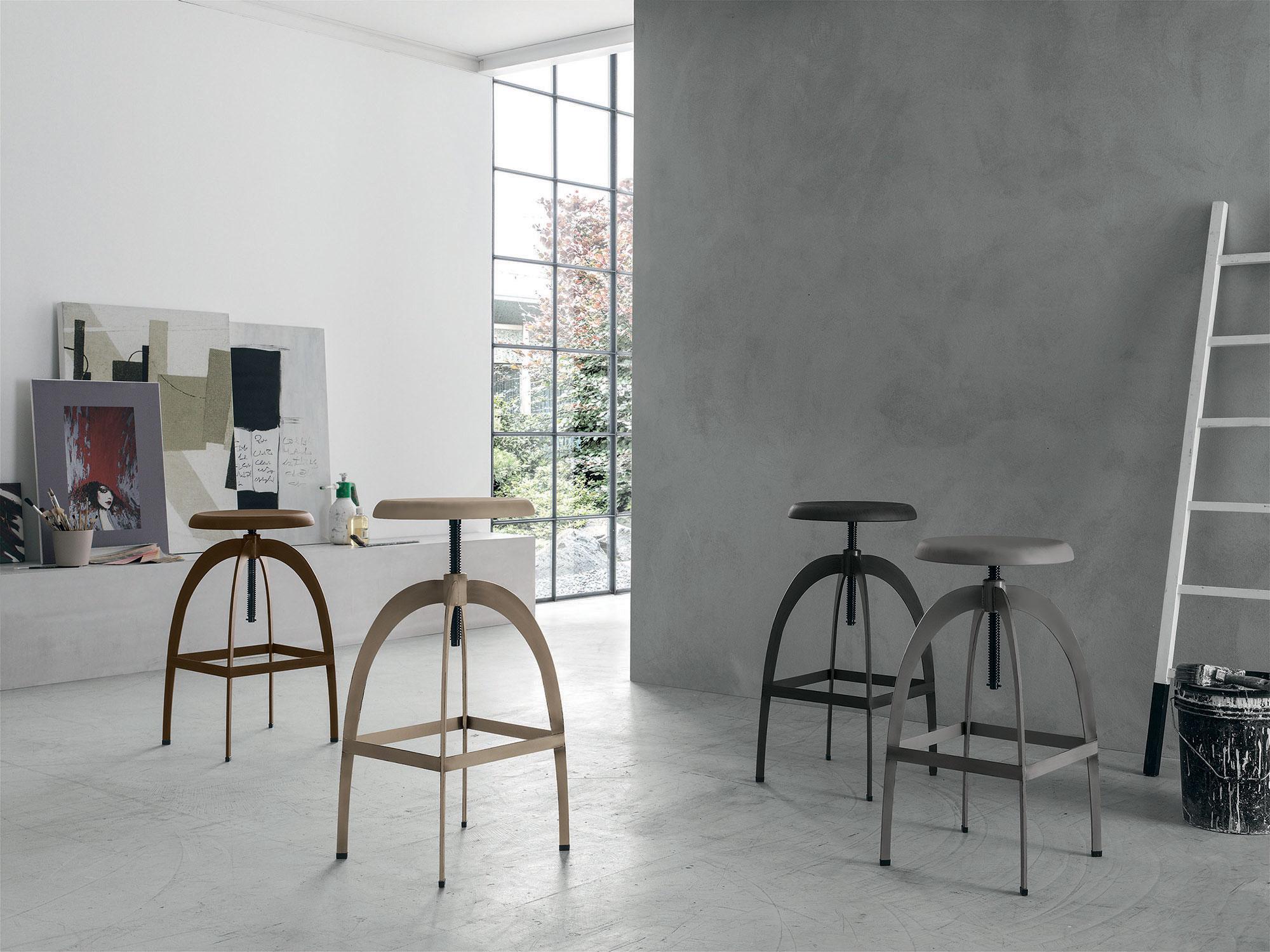 Riga sgabello target point in metallo insedia: sedie tavoli e