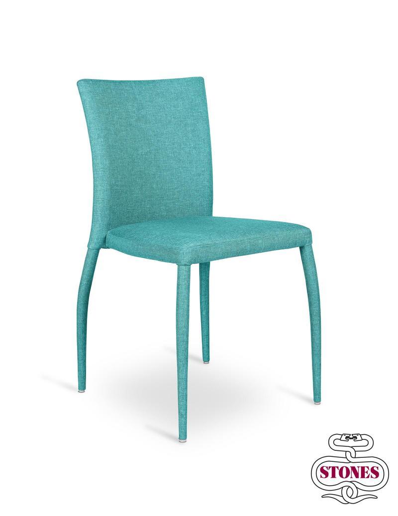 Tilly | Sedia in metallo rivestita in tessuto | InSedia: Sedie ...