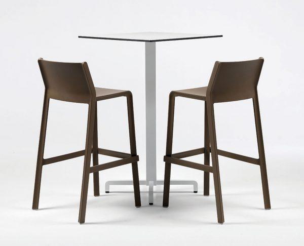 Trill stool sgabello nardi in polipropilene insedia: sedie