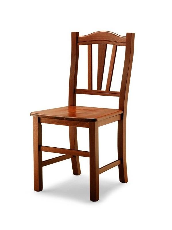 Silvana sedia rustica in legno e paglia vari colori for Vendita sedie cucina