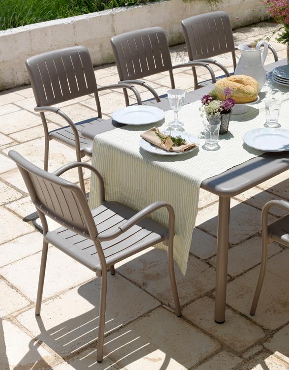 Tavolo Per Esterno Allungabile.Maestrale Tavolo Da Esterno Allungabile In Alluminio E