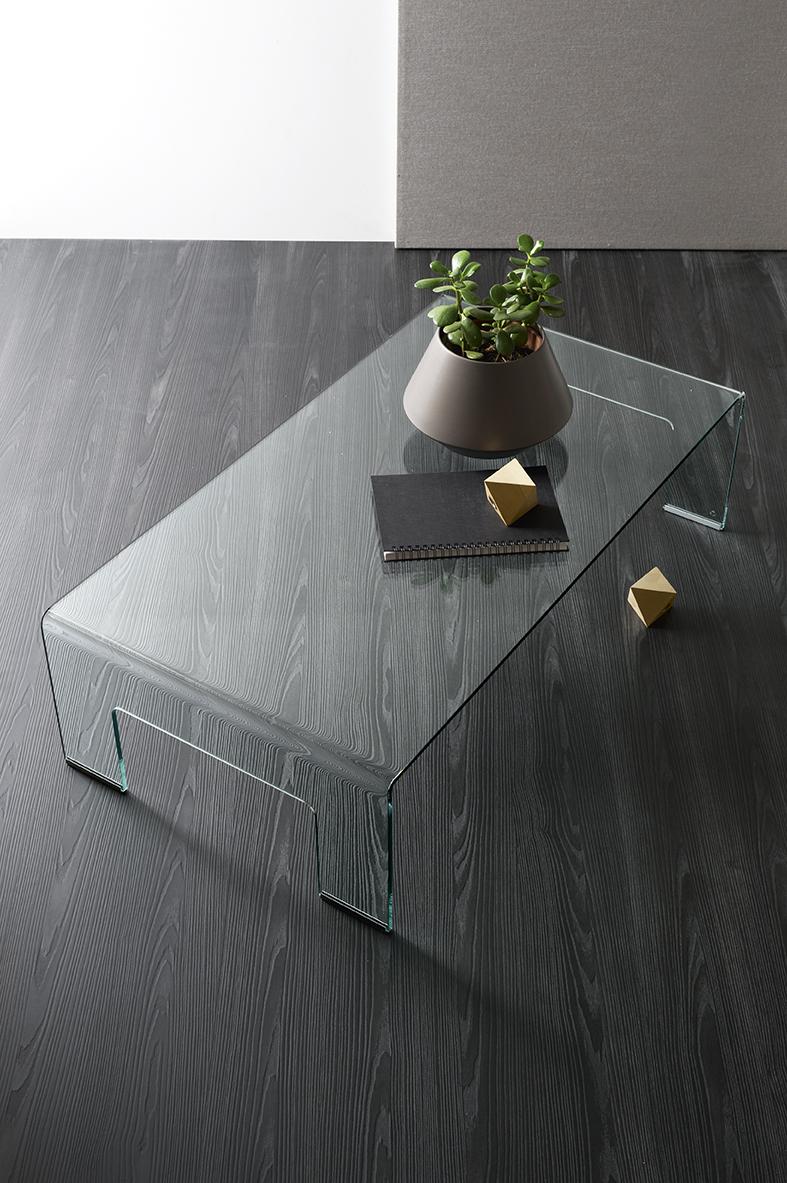 Real   Tavolino basso Calligaris in vetro