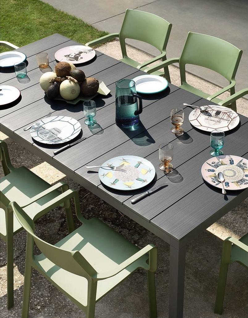 Rio Alu | Tavolo allungabile NARDI da esterno in alluminio ...