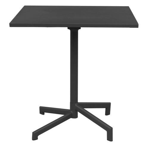 Vega   Tavolo quadrato da esterno in metallo 70 x 70 con ...